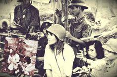 "The infamous Vietnam photo which earned Jane Fonda the ""Hanoi Jane"" moniker."