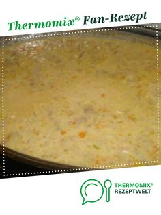 Allgäu cheese soup from Andi Kraus. A Thermomix ® recipe from . Allgäu cheese soup from Andi Kraus. A Thermomix ® recipe from the soups category - Sopa Detox, Detox Soup, Smoothie Detox, Guisado, Fat Burning Detox Drinks, Cheese Soup, Sandwich Recipes, Diet And Nutrition, Chowder