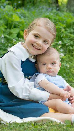 Princess Estelle and Prince Oscar, June 6th, 2016