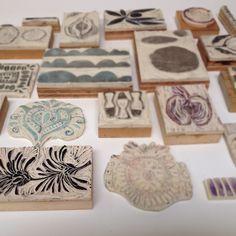 Handmade stamps Diana Fayt