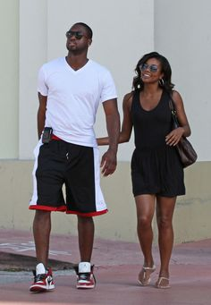 Gabrielle Union Photo - Gabrielle Union and Dwayne Wade in Miami <3 <3 <3