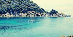 Ammouliani Beach,Chalkidiki #emeraldsea Greece, River, Sea, Outdoor, Greece Country, Outdoors, Ocean, Outdoor Living, Garden