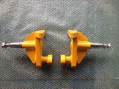 Simply lift one end up 30 cm fit the wheel mounts to the side twist lock points, then lift the other end and move the container, works best with a jib on a forklift lifting from the top as seen in the photos.