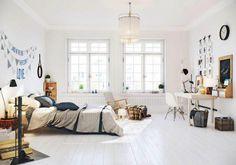 Espacioso apartamento en estilo nórdico