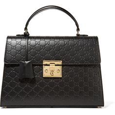 Gucci Padlock embossed leather tote (8,690 MYR) ❤ liked on Polyvore featuring bags, handbags, tote bags, gucci, borse, totes, genuine leather handbags, embossed leather purse, tote handbags and handbags totes