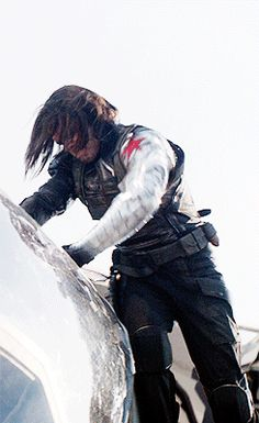 Bucky's dating tips: Hold the door for your date. Rip the door off its hinges. Use the door as a weapon to fight off other men. Establish dominance.