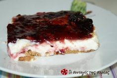 Greek Desserts, Greek Recipes, Icebox Cake, My Dessert, Recipe Images, Easy Crafts, Cheesecake, Deserts, Ice Cream