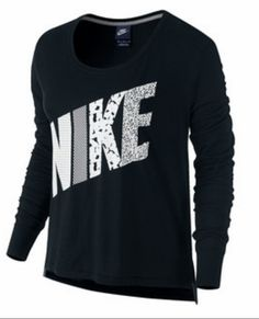 a680b3f66bd Black nike Blue Long Sleeve Shirt