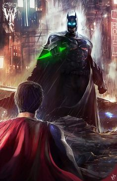 Batman vs Superman by Ceasar Ian Muyuela
