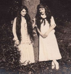 https://flic.kr/p/Rf5WCX | (Detail) Vintage Snapshot : Teen Girls By Tree ca1910 | You are welcome to pin, re-post, embed and share this image, but please do not reproduce for your personal gain or profit without my permission.  © All Rights Reserved ---------------------- This is a scanned image from a batch of vintage snapshots, cabinet cards, tintypes and real photo postcards purchased from auction.  I did some small, cosmetic clean-up retouches in photoshop.  Any comments or observations…