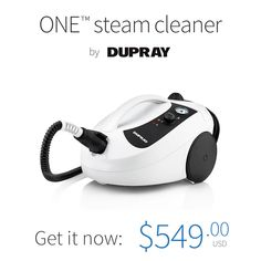 The Ultimate Household Steam Cleaner. The ONE™ steam cleaner offers unmatched performance, superior value and all-around versatility in Cleaning Recipes, House Cleaning Tips, Diy Cleaning Products, Cleaning Solutions, Spring Cleaning, Cleaning Hacks, Cleaning Room, Steam Cleaners, Home Hacks