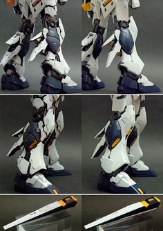 MG 1/100 Nu Gundam Ver.ka - Customized Build Modeled by shunneige CLICK HERE TO VIEW FULL POST...