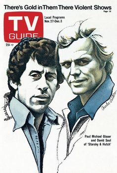 TV Guide covers of the 1970s illustrated by Charles Santore