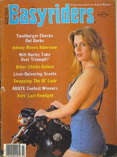 Casually found Easyrider girls gone nude something is