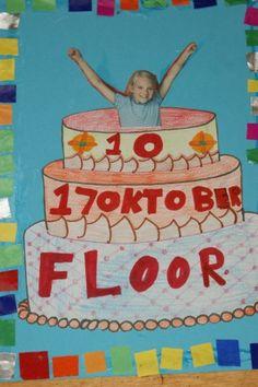 CBS de Fakkel - Groep 5 en 6 School S, School Teacher, First Day Of School, Primary School, Back To School, Classroom Crafts, Classroom Fun, Birthday Calendar Classroom, School Birthday