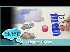 Lifting and Removing Watercolor Pigment – Tips and Techniques - YouTube