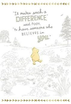 The best Winnie the Pooh quotes about love, friendship, and adventure and more! the pooh Quotes The Best Winnie the Pooh Quotes & Christopher Robin Movie Trailer Cute Winnie The Pooh, Winnie The Pooh Quotes, Eeyore Quotes, Winnie The Pooh Classic, Vintage Winnie The Pooh, New Quotes, Love Quotes, Inspirational Quotes, Baby Quotes