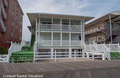 White Surf 1n On Boardwalk around 22 st.  2 br (1 queen, 1 queen & bunk beds) 1.5 bath, 2 parking. $1600.00