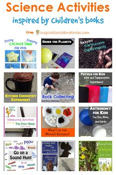 Science + Picture books = Awesome! Try these science activities inspired by children's books!