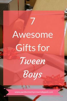 Get help finding the right gifts for tween boys. 7 cool ideas for finding gifts your tween boy will like and use for maximum gift giving enjoyment tweenboygifts Tween Boy Gifts, Gifts For Teens, Girl Gifts, Easy Diy Christmas Gifts, Easy Gifts, Fun Gifts, Unique Gifts, Valentines For Boys, Valentine Gifts