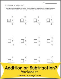 math worksheet : ant addition freebie  2 simple addition worksheets and 1 word  : Math Worksheets 1st Grade Addition And Subtraction
