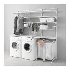 Image result for ikea algot laundry room Ikea Algot, Ikea New, Laundry Room Remodel, Household Organization, Garage Ideas, Basement Ideas, Bathroom Medicine Cabinet, Washing Machine, Home Appliances
