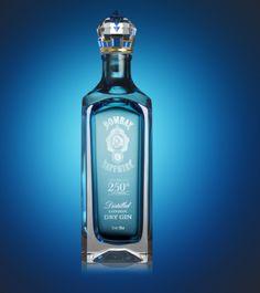 Bombay Sapphire Gin - Nice Bottle