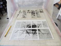 Proyecto de intervención y arte postal.  +info: https://colaboratorioaim.wordpress.com/portfolio/cadaverexquisito/ © Colaboratorio AIM