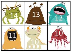 Monster Math Making 10 or 20