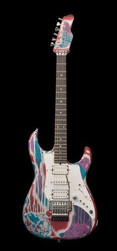 James Tyler Guitars : Pyschedelic