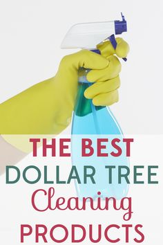 The only thing worse than cleaning is having to spend money on cleaning supplies. That's why I save by using Dollar Tree cleaning products.