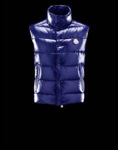 Mens Moncler Vest Blue - £98.99 http://jacketsdeal.co.uk/moncler-vests-men-c-4/moncler-mens-tibet-down-vest-blue-p-2030.html