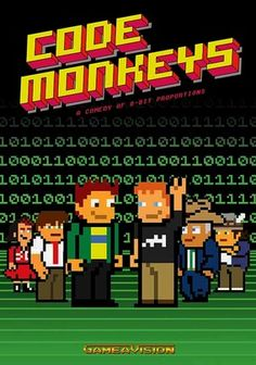 Code Monkeys (2007) Designed in the style of an early-1980s video game, this outrageous animated series centers on the gonzo programmers at tech startup GameaVision and their antiheroic struggles to get their ideas off the ground. Stoner lead programmer Dave pursues every crackpot impulse, whether joining an underground eating competition or teaming up with pro wrestlers, while neatnik best bud Jerry meekly plays along, and scheming new boss Mr. Larrity cries foul.