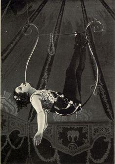 Nana ran away to join the circus