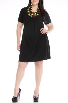 Club La Short Dress in Black - Beyond the Rack