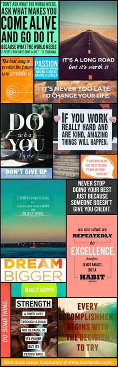 Motivational Career Quotes