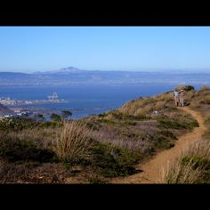 San Bruno Mountain, Ridge Trail and Summit Loop: Moderate: 3.5 miles, Half day. Hike the popular wilderness preserve on this great San Francisco Peninsula hike.