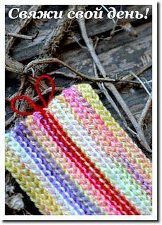 bosnian crochet happy day scarf