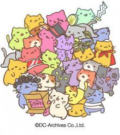 Mitchiri Neko ball of cats