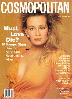 Cosmopolitan magazine, JUNE 1988 Model: Estelle LeFebure  Photographer: Francesco Scavullo