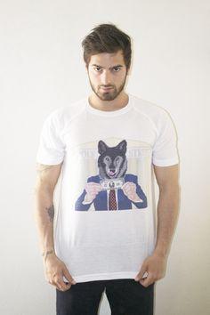 Wolf of Wall Street par La French Clothing on adore ! Beau T Shirt , Super Modèle