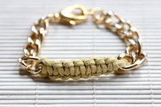 Dying for this DIY chain bracelet