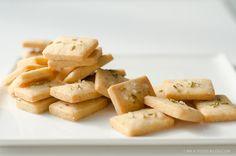 Parmesan Shortbread with Fennel and Sea Salt Recipe