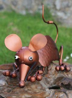 #Fairtrade Handmade Metal #Mouse