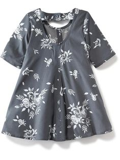 Floral Swing Dress for Baby Product Image
