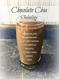Try this super delicious, superfood packed Chocolate Chia Shakeology. Really helps curb those sweet cravings while giving you a super healthy boost for the day! Add me on Facebook.com/angelinerstetzko to get a new Shakeology recipe every Thirsty Thursday!