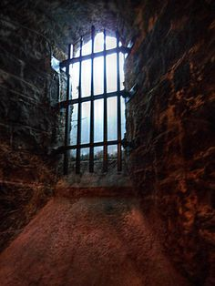 Dark Tone- This picture symbolizes how there is no escape for the prison and that you will probably never get to see the outside.