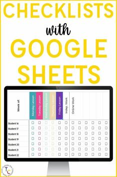 Looking for a way to manage student attendance and work completion digitally? This video tutorial helps you get started with creating checklists with Google Sheets and how to set it up to meet your needs. This is the perfect video tutorial whether you're an elementary teacher, middle school teacher, or high school teacher looking to get organized. If you're teaching in person, in a hybrid model, or online for distance learning, Google Sheets checklists will help you organize student work complet