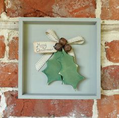 Christmas Wall Art Holly Art wall decoration by SuzanneLake