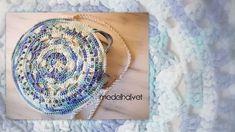 bolso ganchillo circular Gold Rings, Rose Gold, Jewelry, Instagram, Fashion, Crochet Mandala, How To Knit, Mandalas, Tutorials